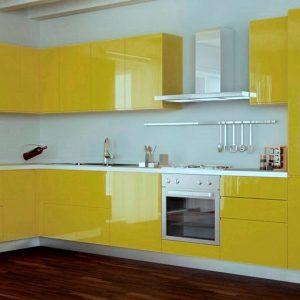 Желтая кухняна заказ