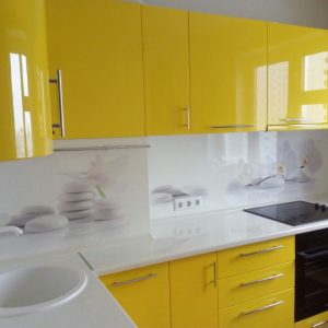 Желтая кухняв Минске